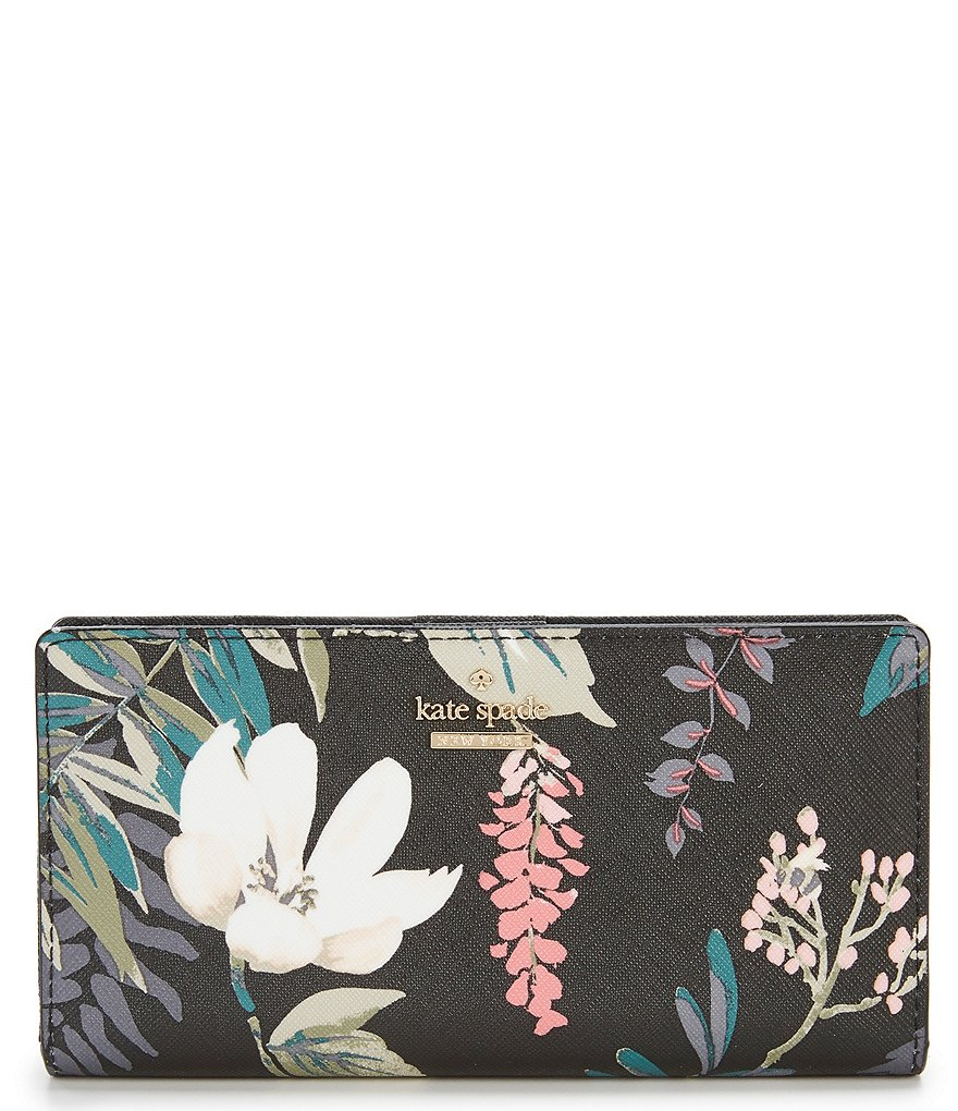 kate spade new york Cameron Street Botanical Stacy Continental Wallet
