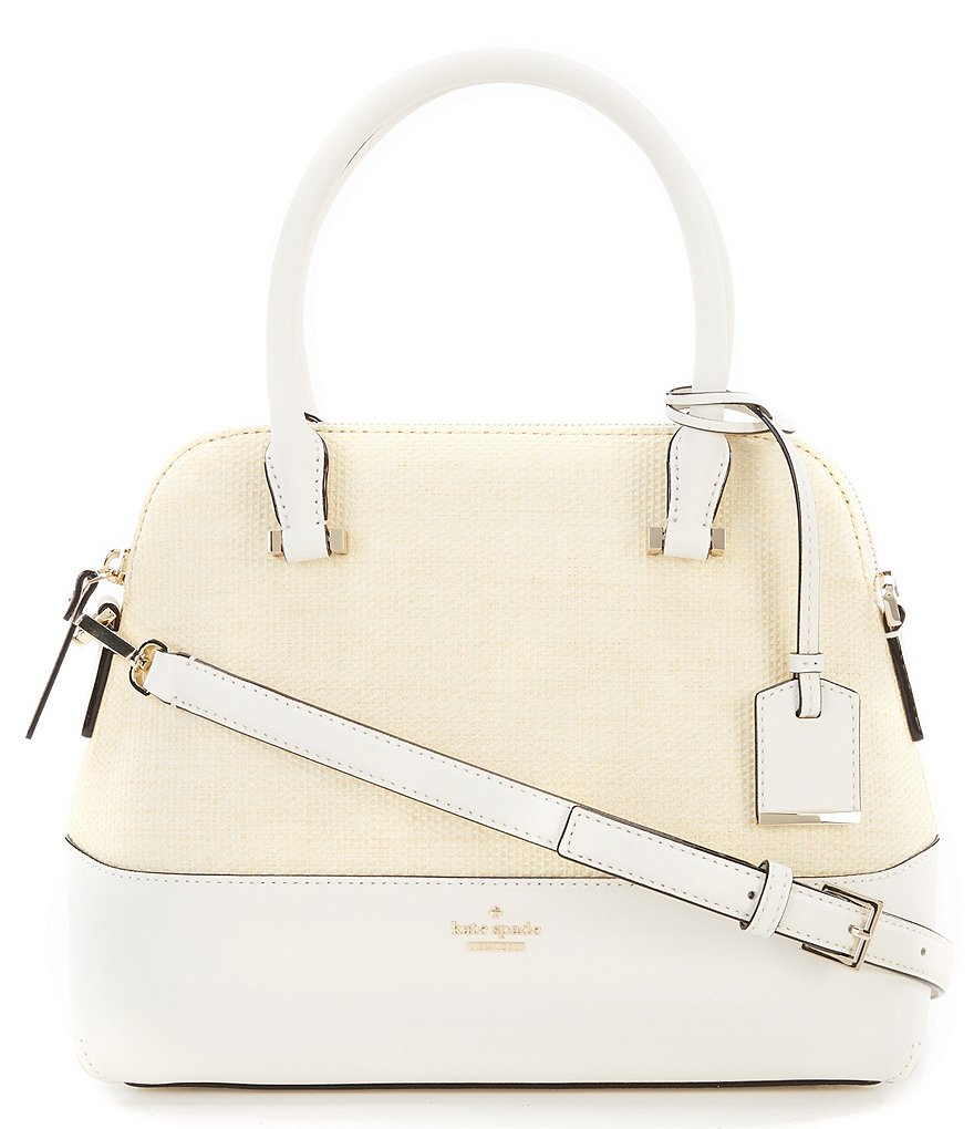 kate spade new york Cameron Street Maise Straw Satchel