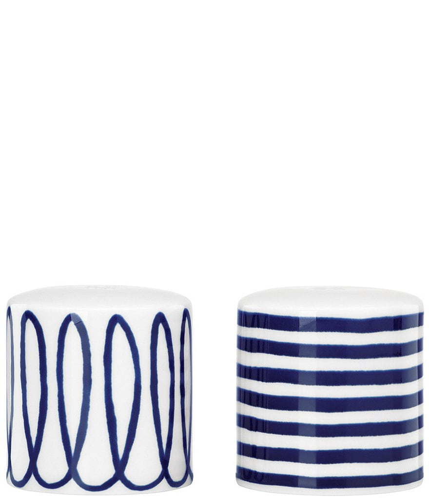 kate spade new york Charlotte Street Swirled & Striped Porcelain Salt & Pepper Shaker Set