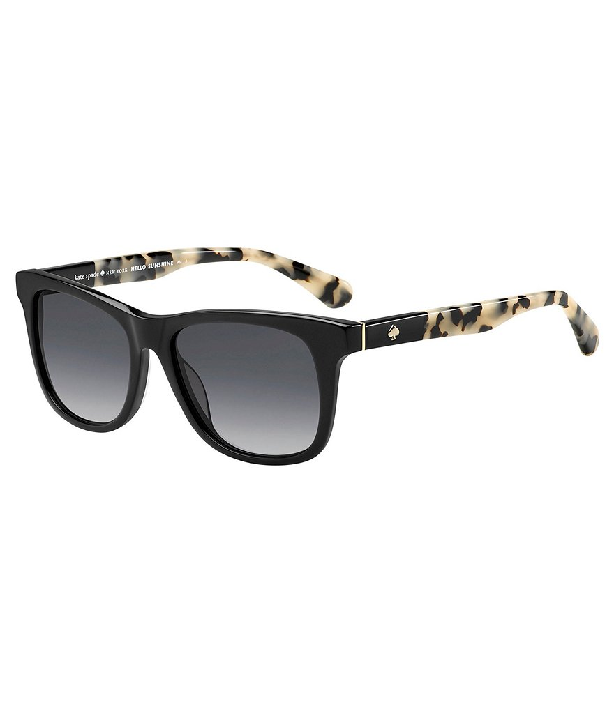 kate spade new york Charmine Retro Rectangle Sunglasses