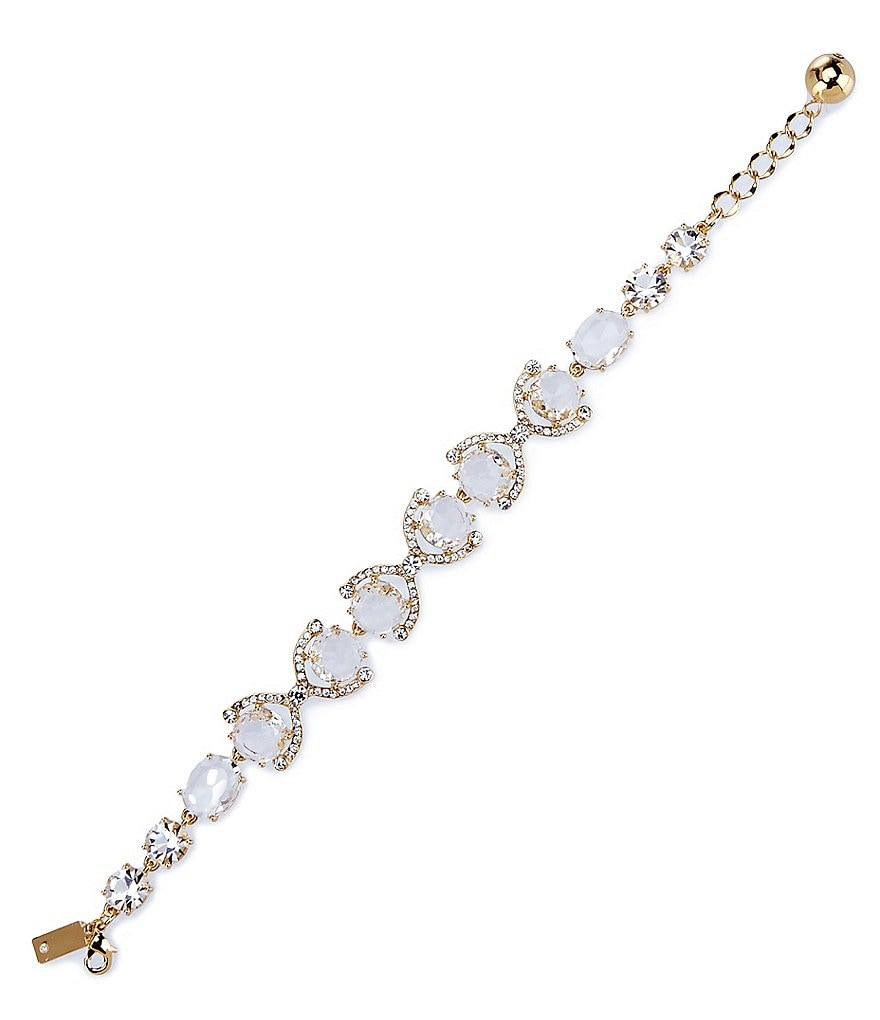 kate spade new york Crystal Cascade Line Bracelet