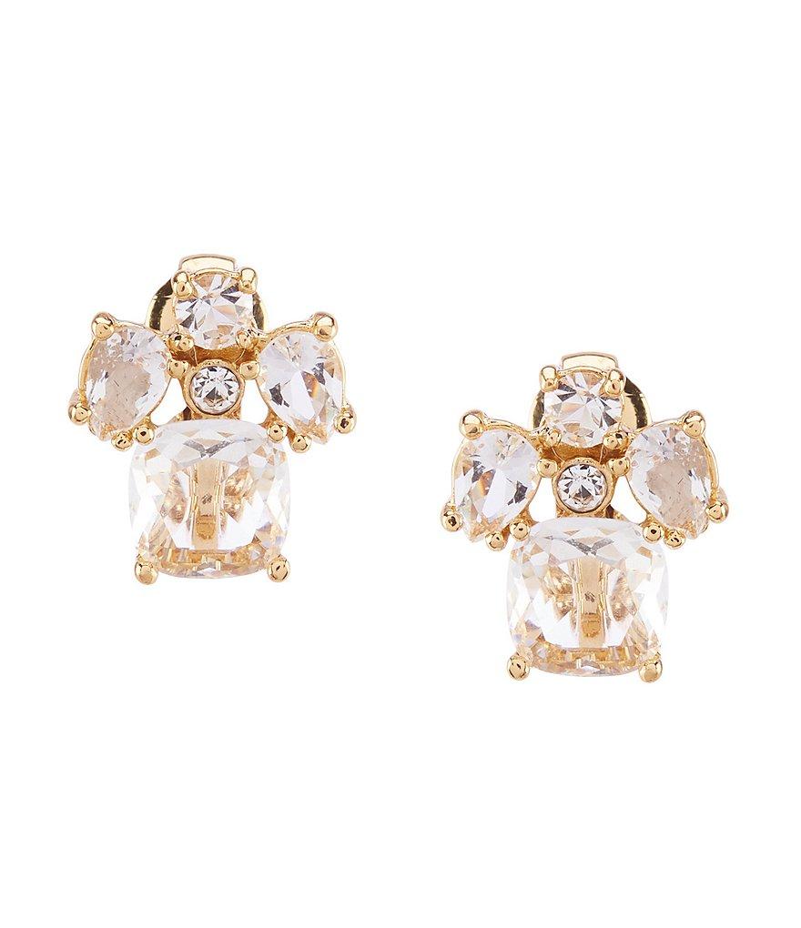 Kate Spade New York Crystal Cluster Clip Earrings Dillard S