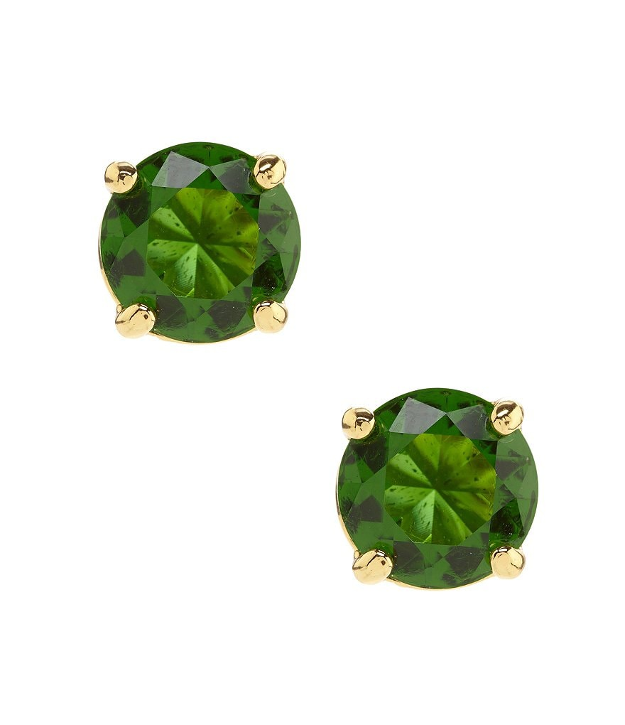 kate spade new york Cueva Rosa Crystal Stud Earrings