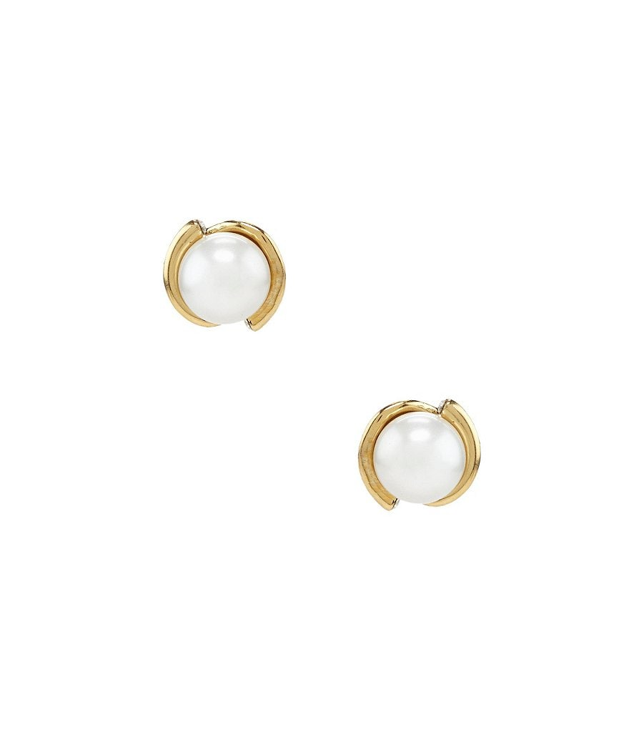 kate spade new york Dainty Sparklers Faux-Pearl Studs