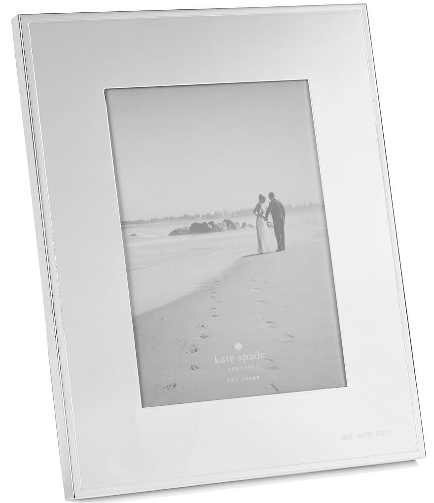 kate spade new york Darling Point Mr. & Mrs. Wedding Picture Frame ...
