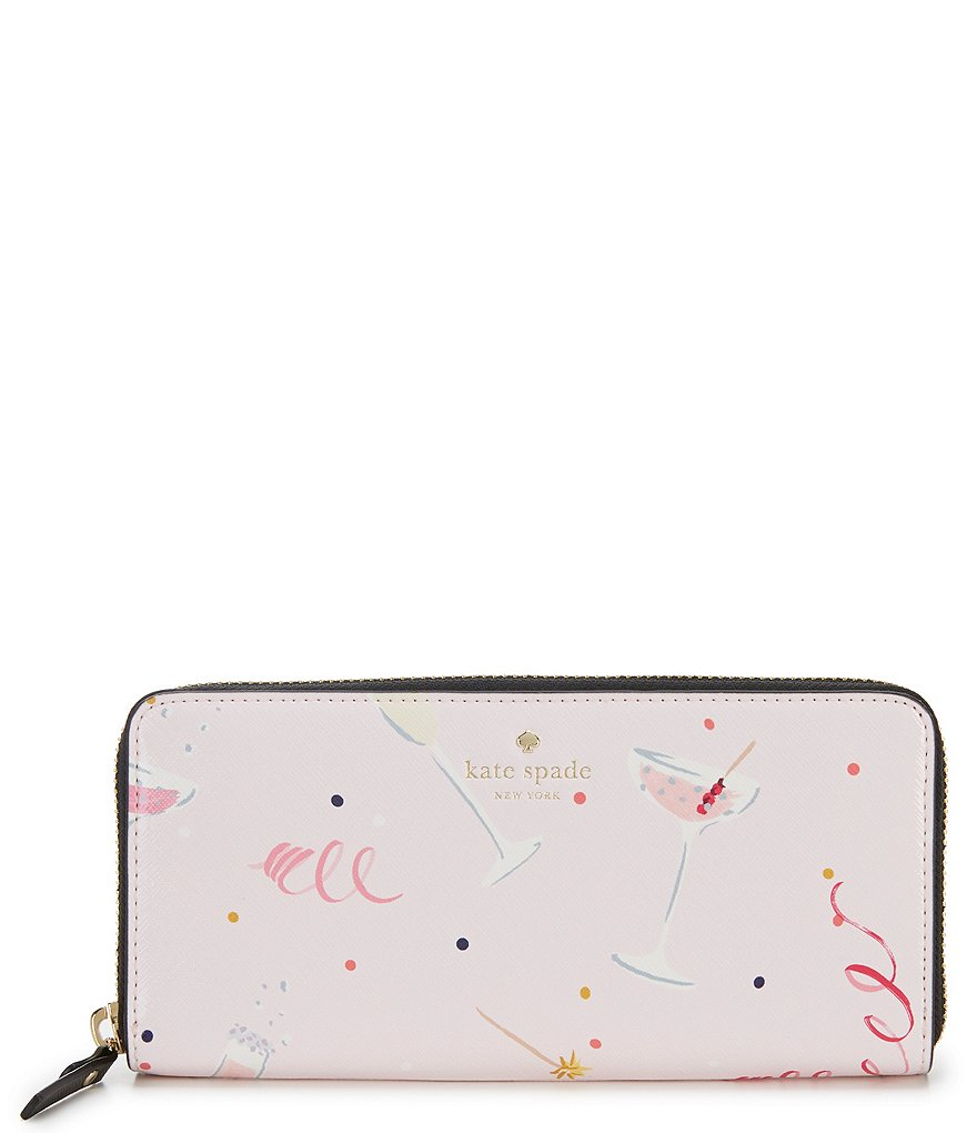 kate spade new york Dashing Beauty Cheers Lindsey Zip Wallet