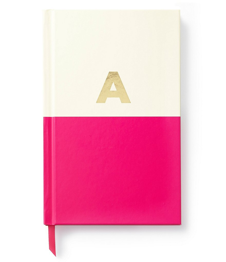 kate spade new york Dipped Initial Notebook