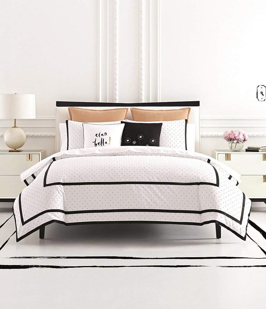 kate spade new york Dot Frame Comforter Mini Set | Dillards