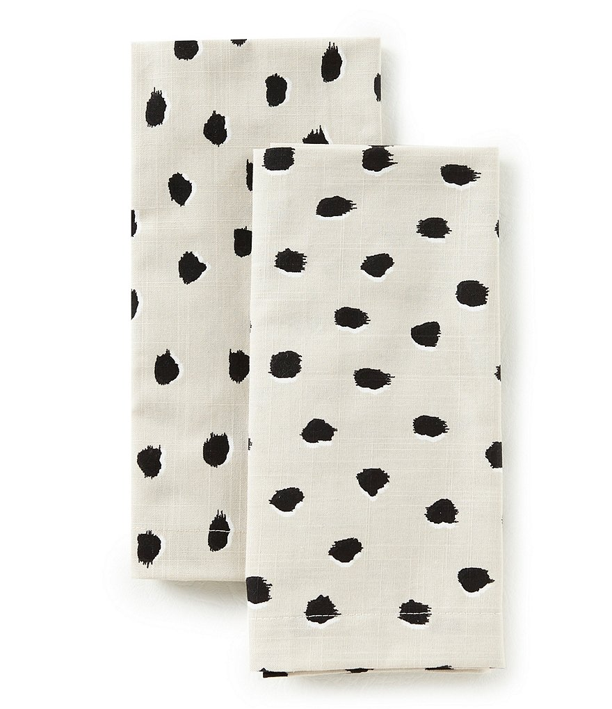 kate spade new york Flamingo Dot Napkins