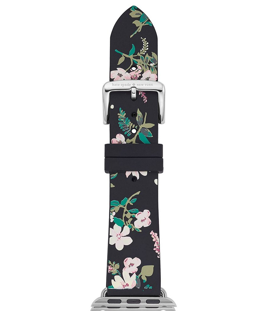 kate spade new york Floral Silicone Apple Watch® Strap