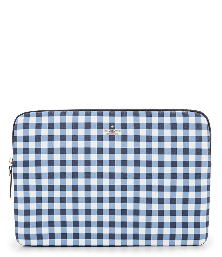 kate spade new york Gingham Laptop Case
