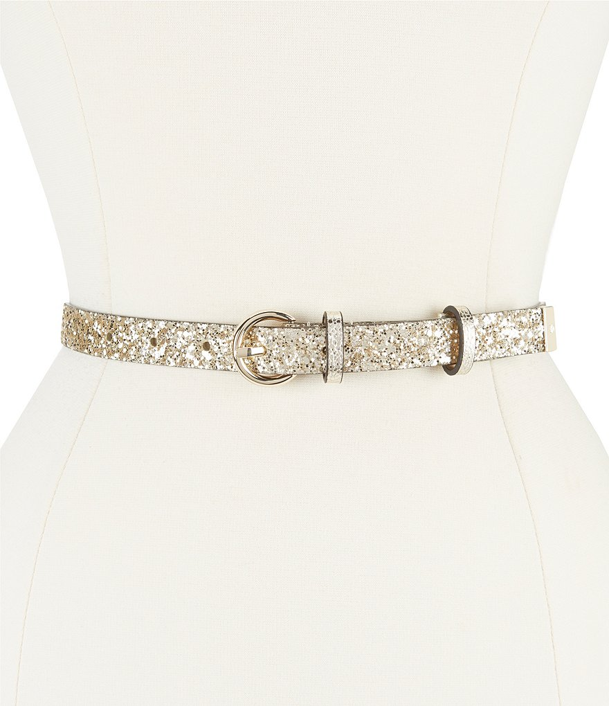 kate spade new york Glitter Sparkle Belt