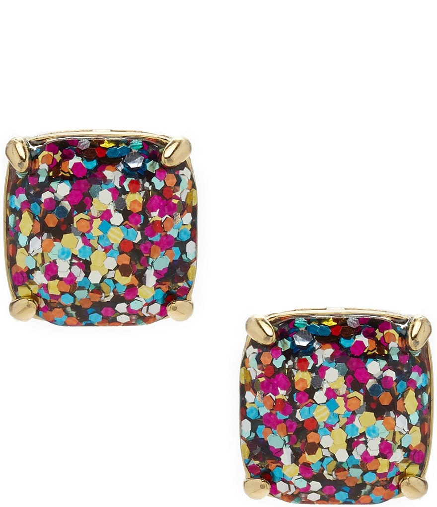 Kate Spade New York Glitter Stud Earrings