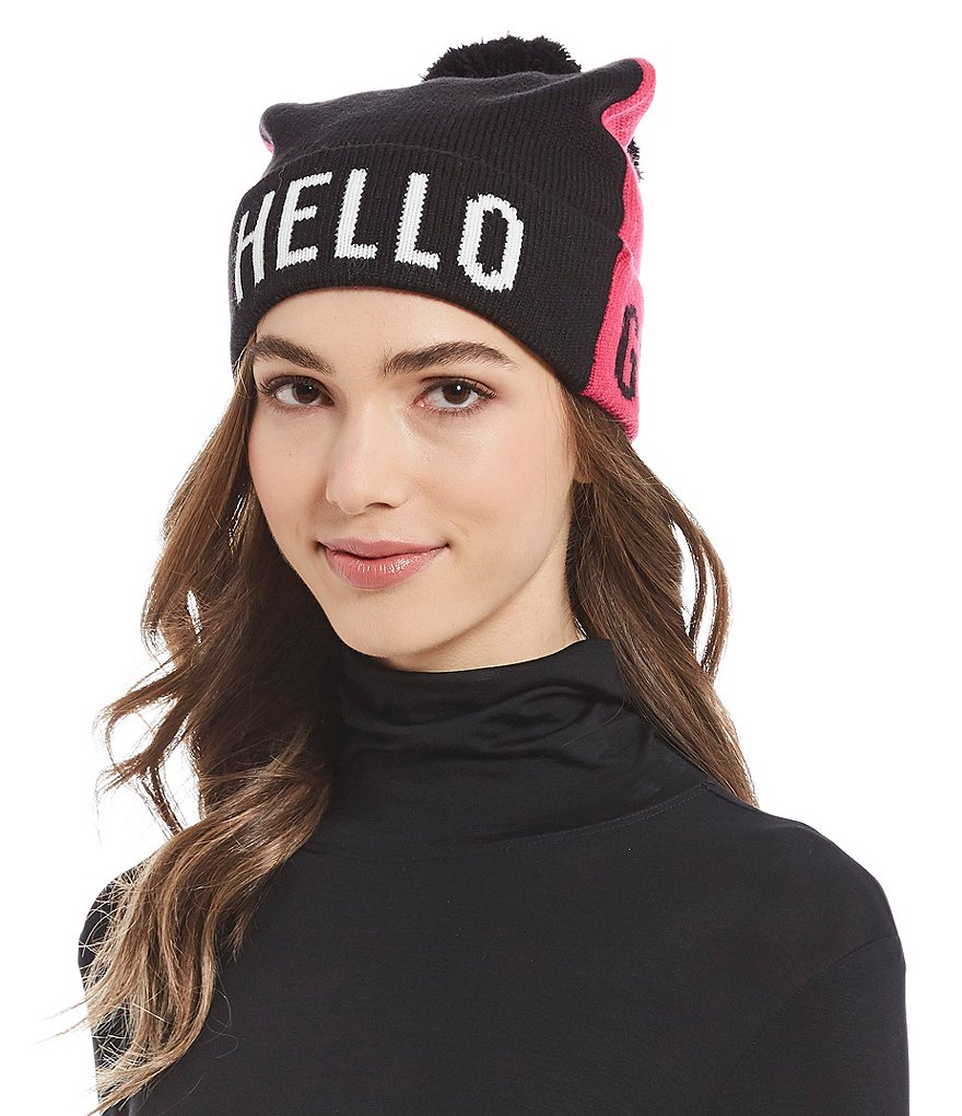 kate spade new york Hello Gorgeous Beanie