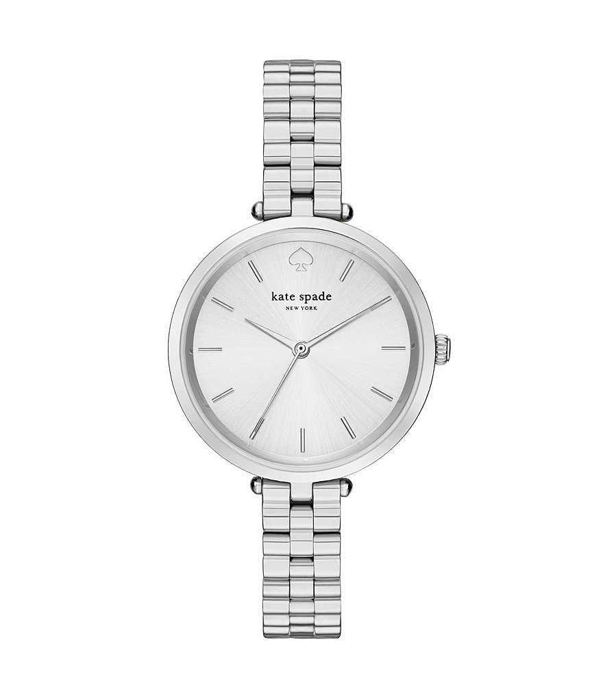 kate spade new york Holland Silver Analog Watch