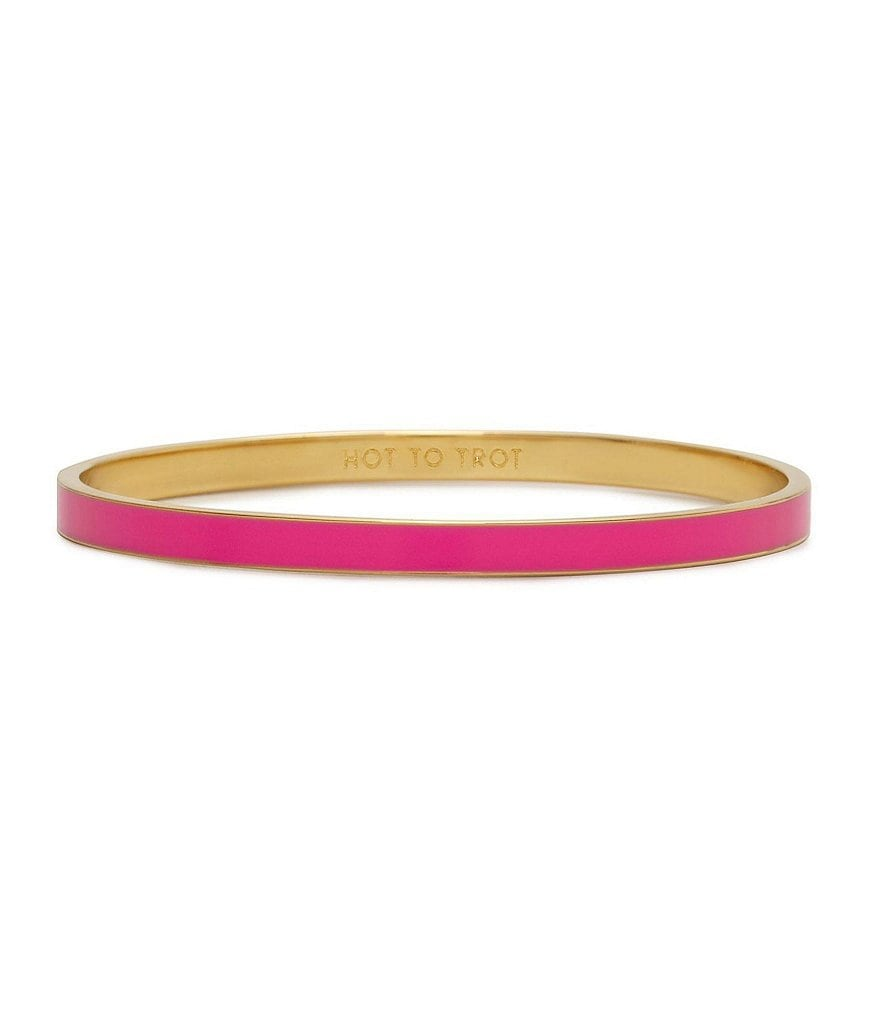 kate spade new york Hot to Trot Idiom Bangle Bracelet