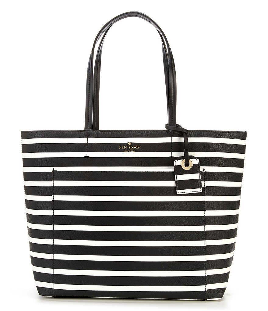 kate spade new york Hyde Lane Riley Stripe Tote