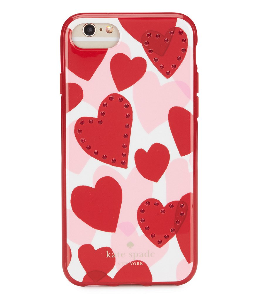 kate spade new york Jeweled Heart iPhone 7/8 Case