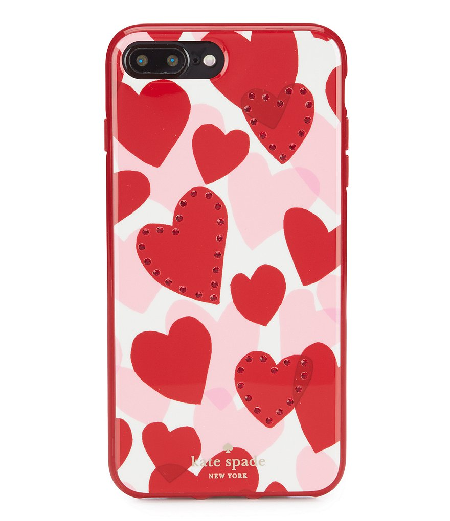 kate spade new york Jeweled Heart iPhone 7/8 Plus Case