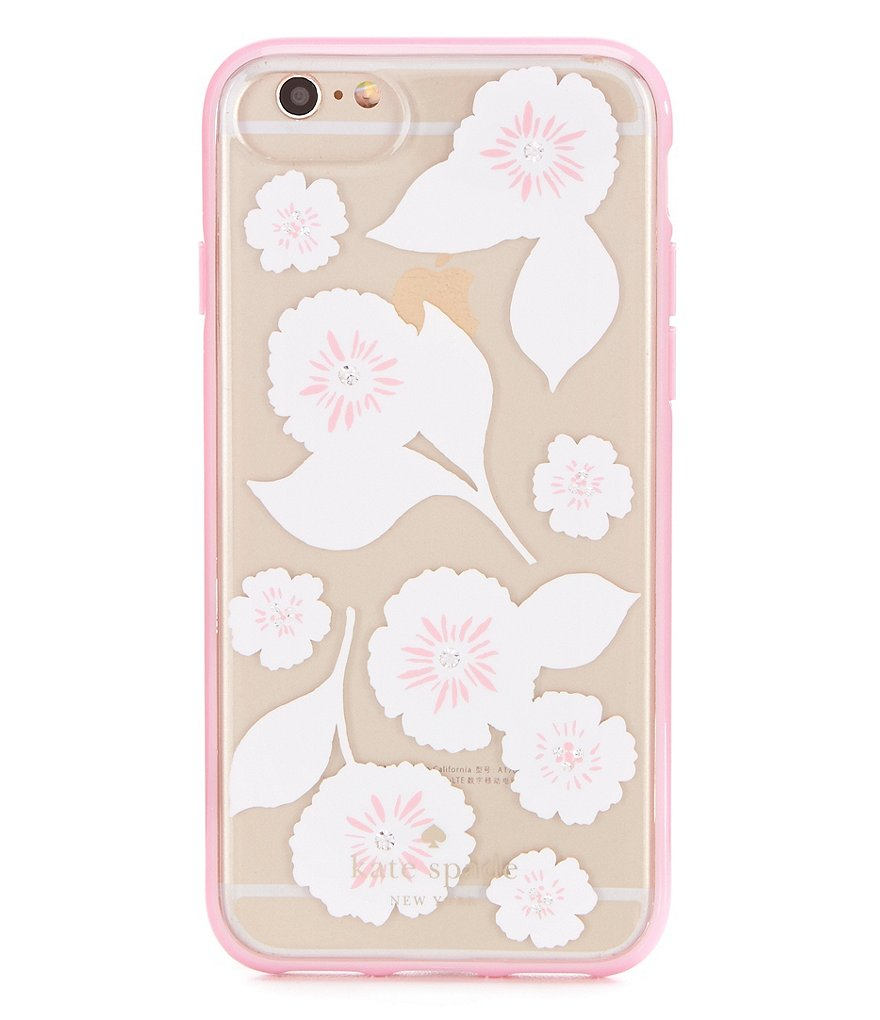 kate spade new york Jeweled Swinging Floral iPhone 7/8 Case