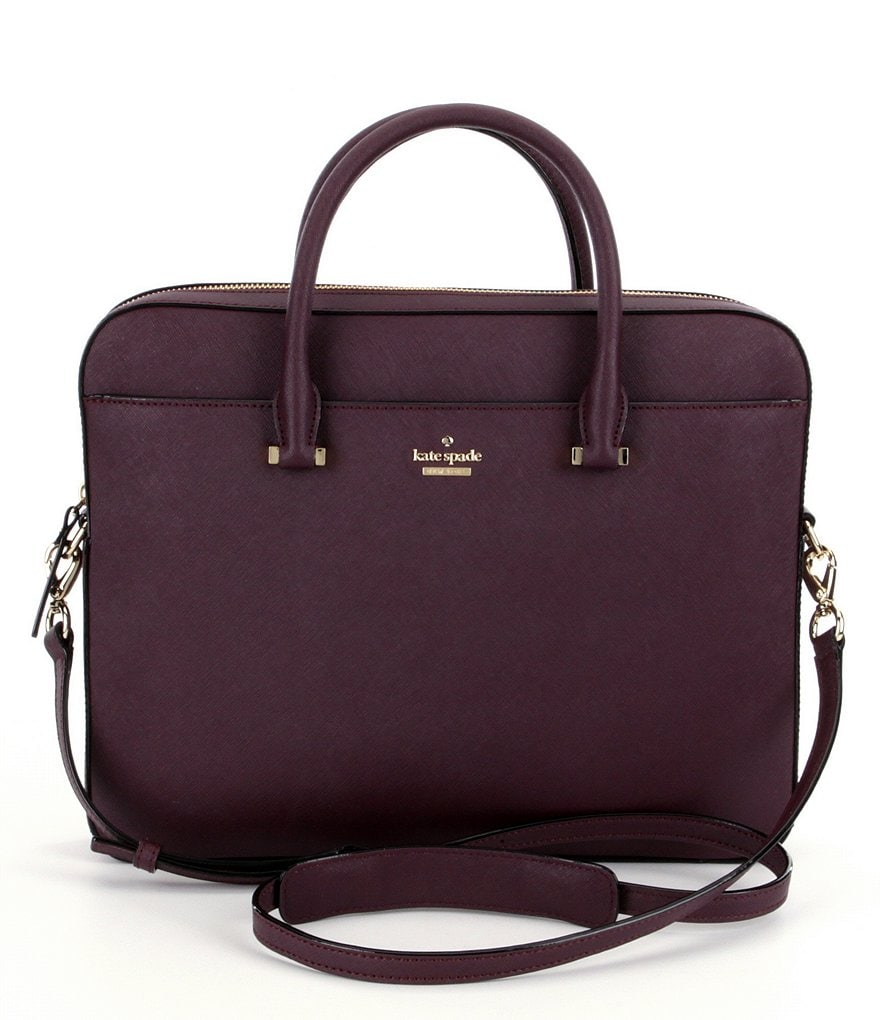 kate spade new york Leather Laptop Bag
