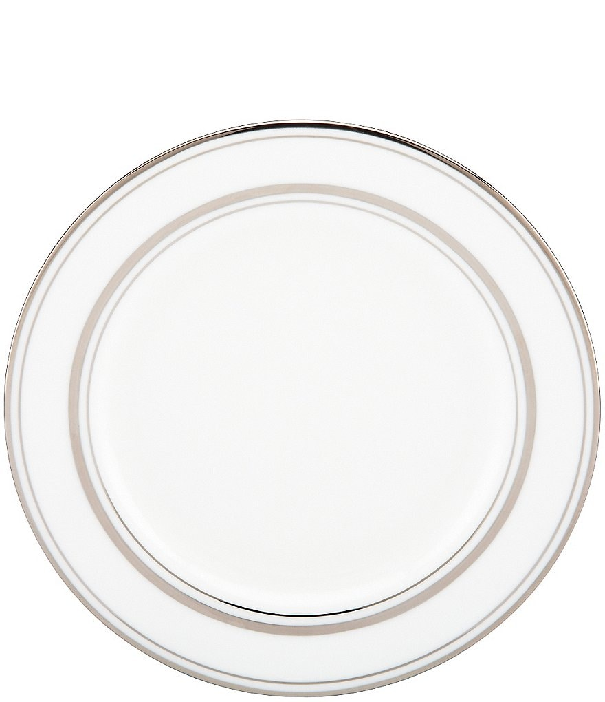 kate spade new york Library Lane Platinum Bread and Butter Plate