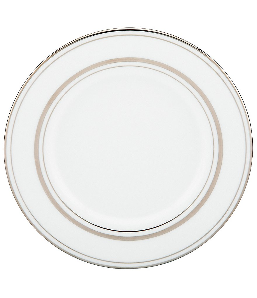 kate spade new york Library Lane Platinum Salad Plate