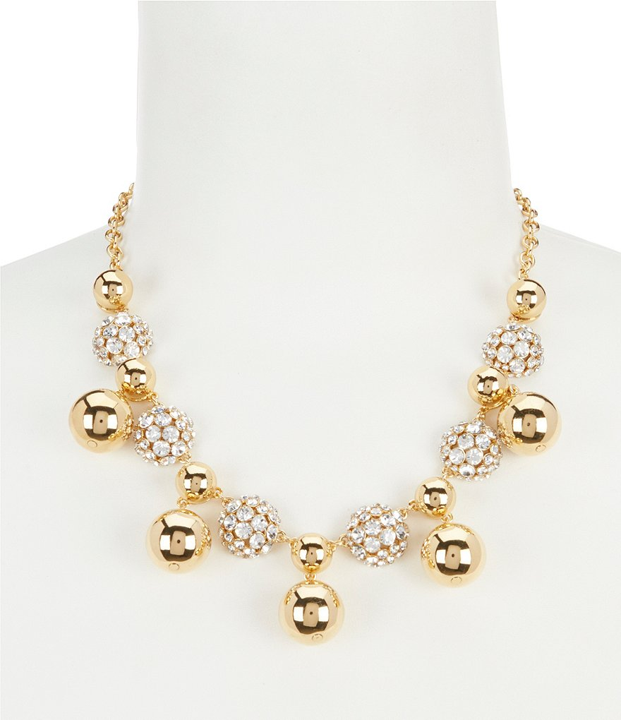 kate spade new york Light Up the Room Bauble Statement Necklace