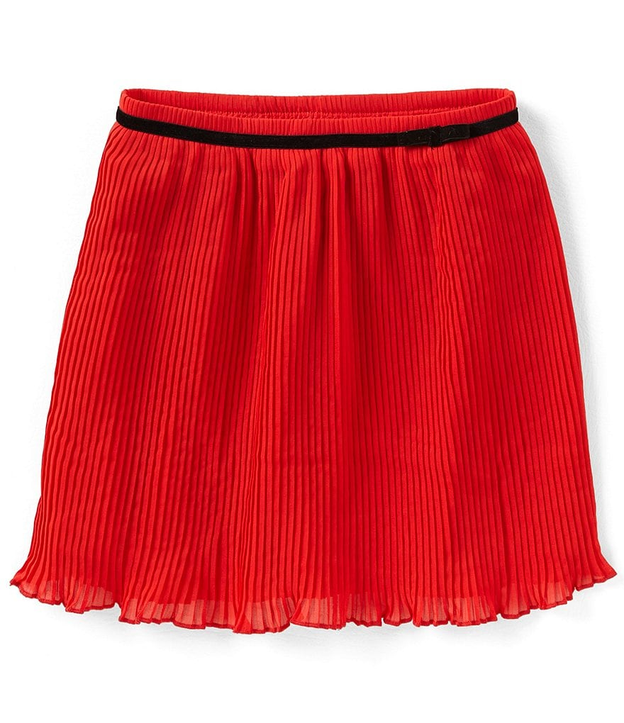 kate spade new york Little Girls 2-6 Pleated Chiffon Skirt