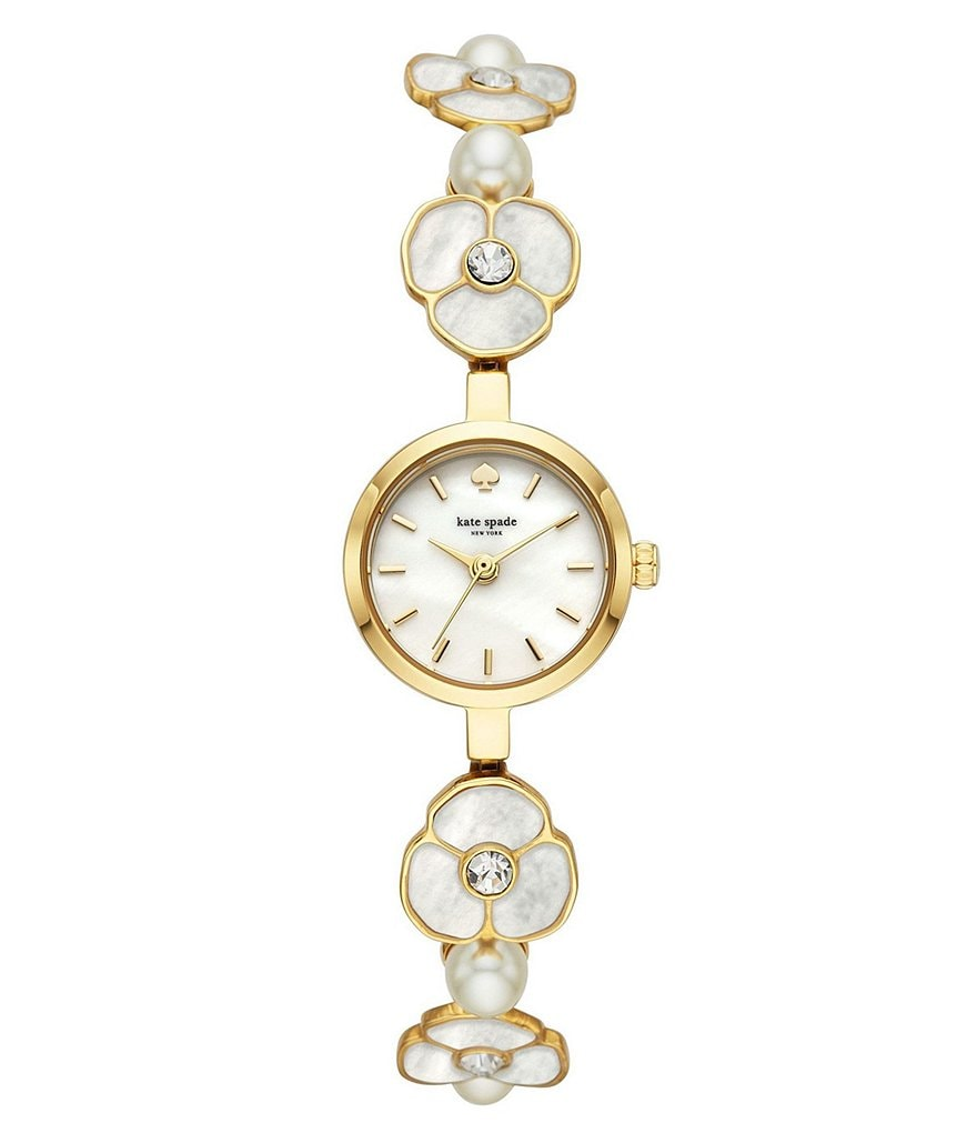 kate spade new york metro daisy mop bracelet watch