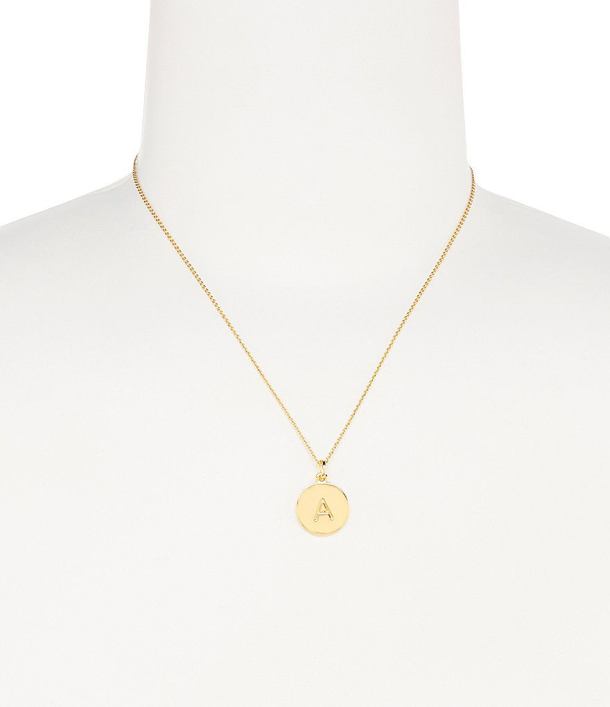 kate spade new york doubleone in a milliondouble initial necklace
