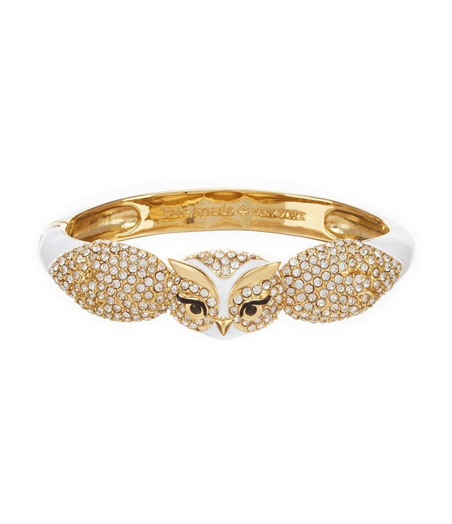 kate spade new york Owl Bangle Bracelet