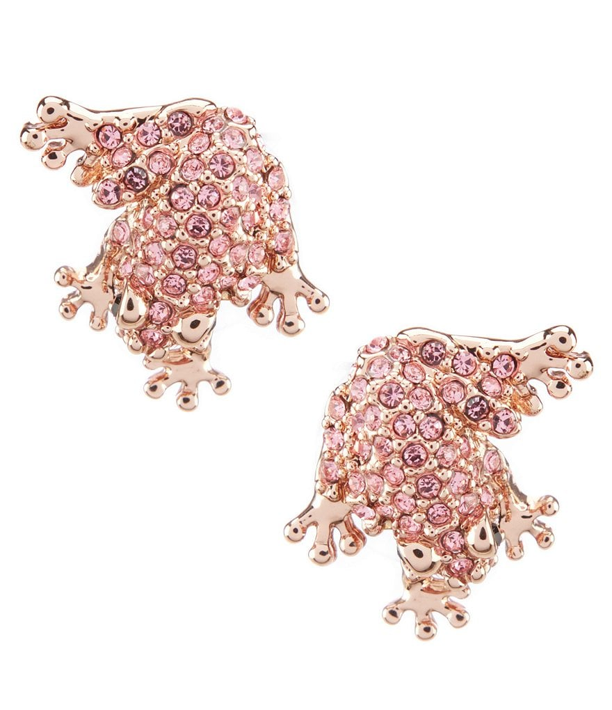 kate spade new york Pave Frog Studs Earring