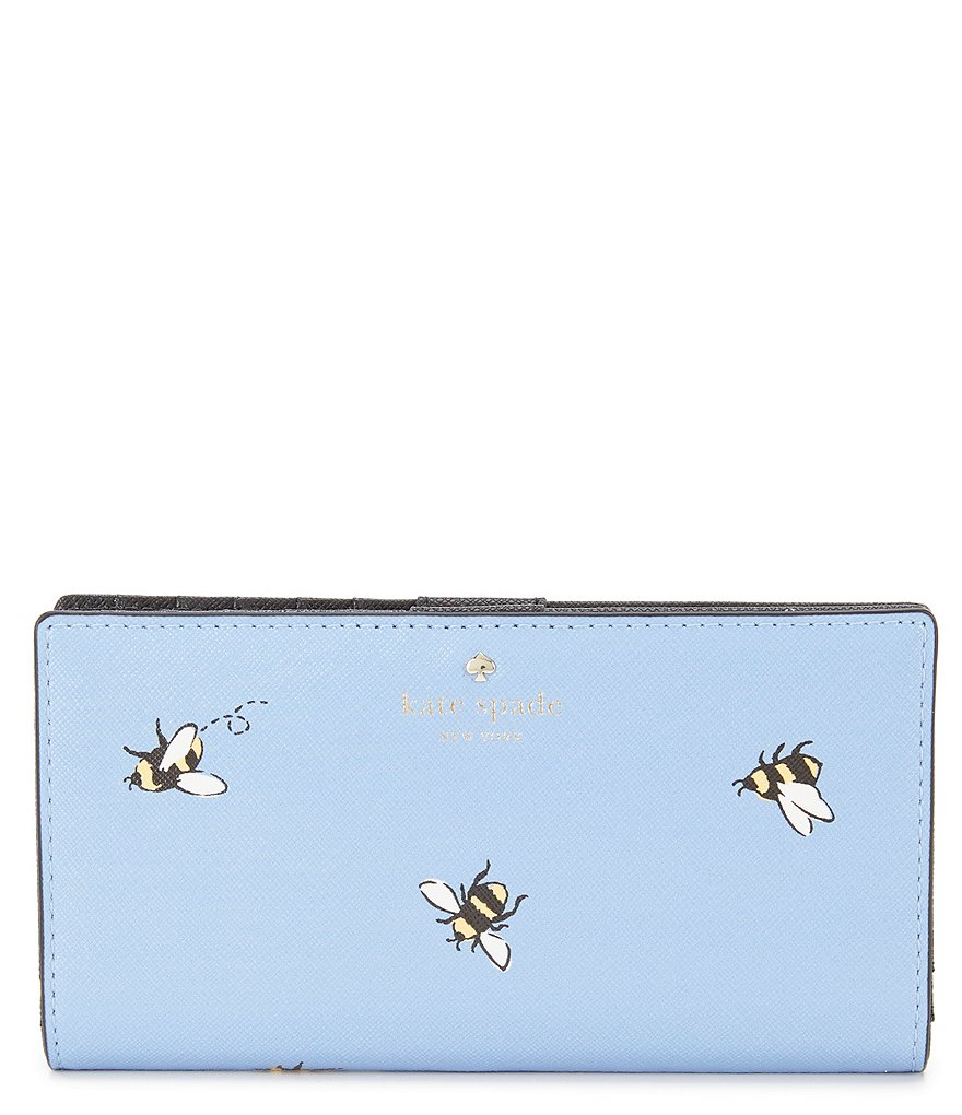 kate spade new york Picnic Perfect Bee Stacy Continental Wallet