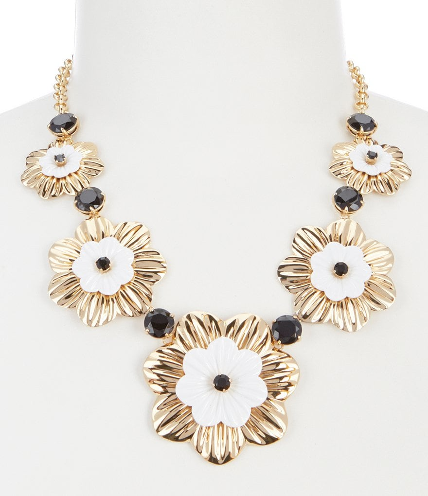 kate spade new york Posy Grove Statement Necklace