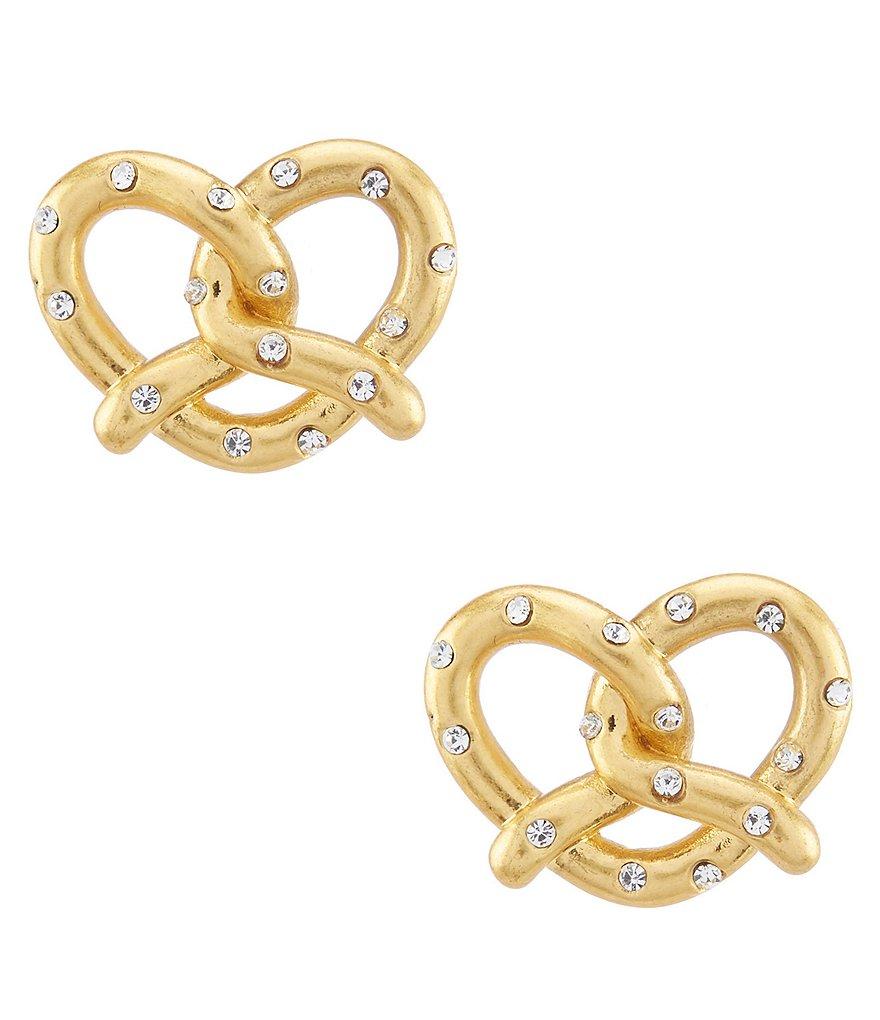 Kate Spade New York Pretzel Stud Earrings
