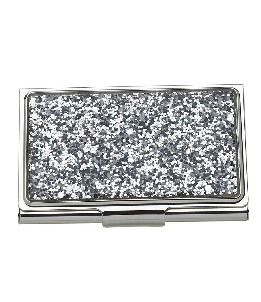 kate spade new york simply sparkling business card holder - Kate Spade Business Card Holder