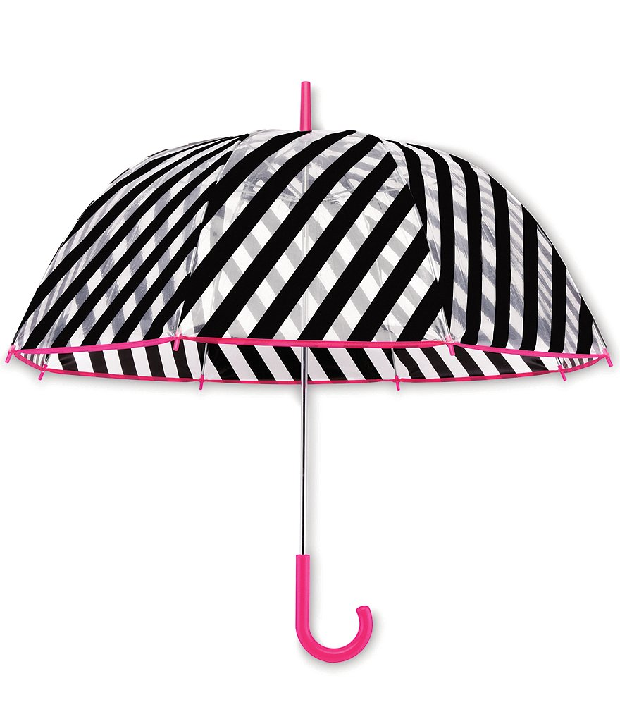 kate spade new york Striped Bubble Umbrella