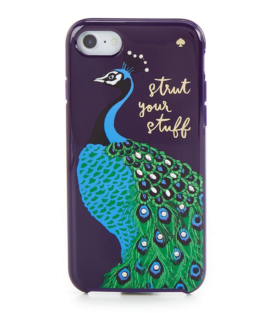 kate spade new york Strut Your Stuff Peacock iPhone 7 Case