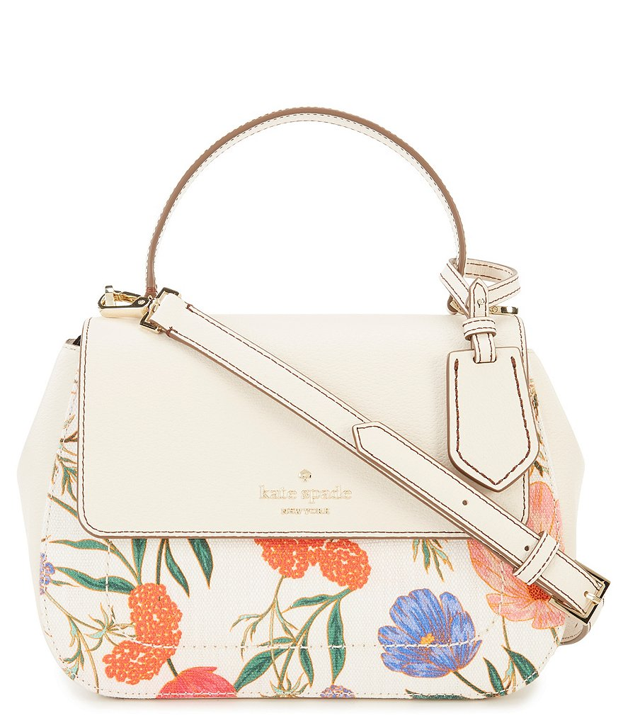 kate spade new york Thompson Street Blossom Justina Top-Handle Satchel