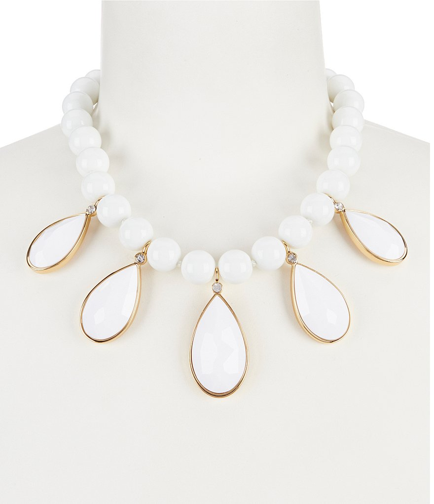 kate spade new york True Colors Teardrop Statement Necklace