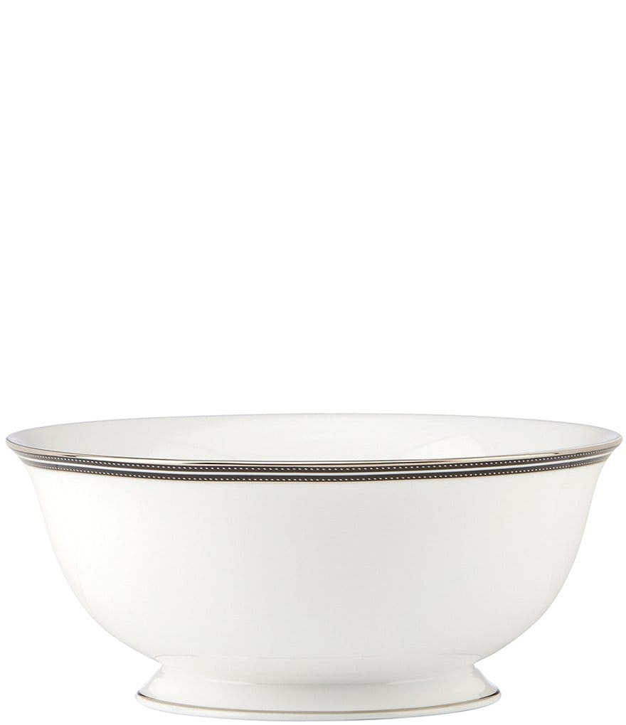 kate spade new york Union Street Striped & Dotted Serving Bowl