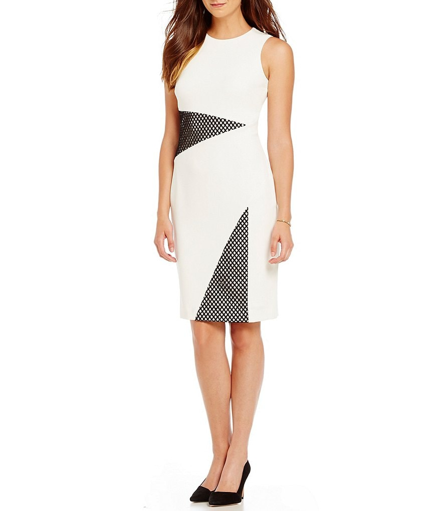 Katherine Kelly Aubrey Colorblock Dress