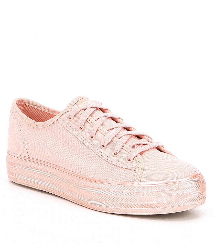 Keds Triple Kick Shimmer Canvas Sneakers