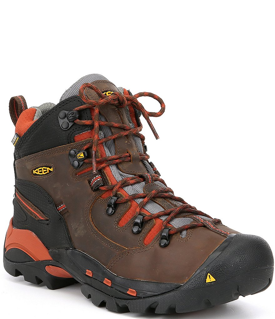 KEEN Men's Utility Pittsburgh Waterproof Soft Toe Work Boots