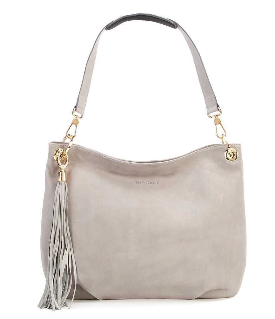 Kelly-Tooke Harley Waterproof Tasseled Hobo Bag