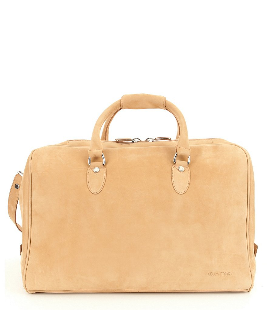 Kelly-Tooke Waterproof Brushed Leather Duffel
