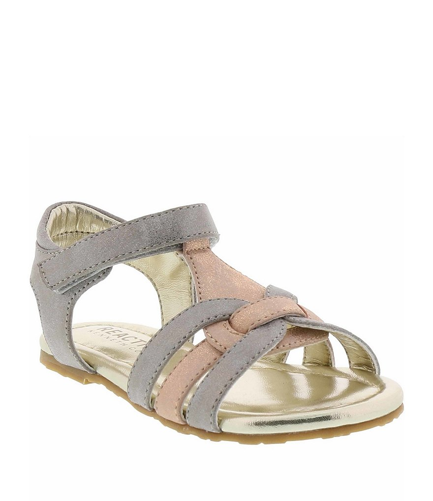 Kenneth Cole New York Girl's Echo Strappy Sandal