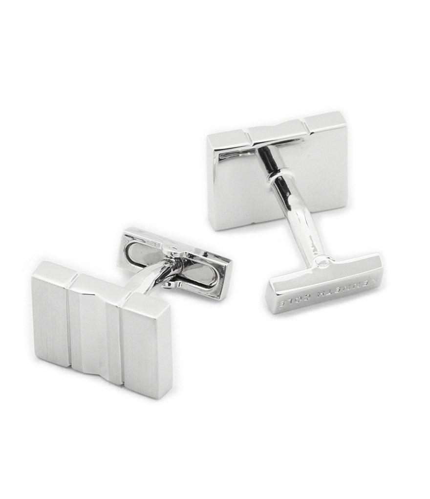 Kenneth Cole New York Matte Out Rectangle Cuff Links