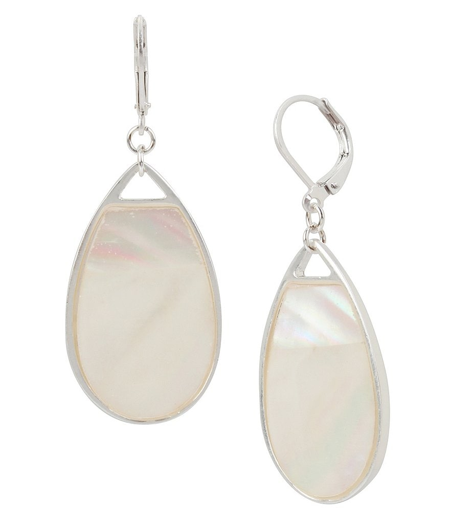 Kenneth Cole New York Mother of Pearl Drop Earrings